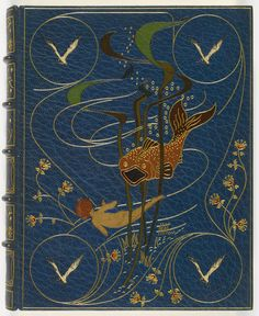 """Charles Kingsley 1886 """"The Water-Babies"""" / illustrations by Linley Sambourne / Binding by Kelliegram"""