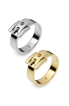 Michael Kors Buckle Ring Love