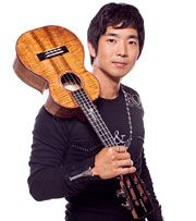 """#Spotlight - In his young career, ukulele wizard Jake Shimabukuro has already redefined a heretofore under-the-radar instrument, been declared a musical """"hero"""" by Rolling Stone, won accolades from the disparate likes of Eddie Vedder, Perez Hilton and Dr. Sanjay Gupta, wowed TV audiences on Jimmy Kimmel and Conan, earned comparisons to Jimi Hendrix and Miles Davis, and even played in front of the Queen of England."""