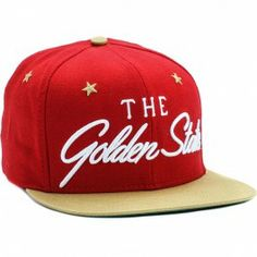 49ers Snapback Hat (Red/Gold/White)