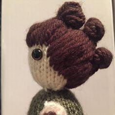 The start of my new collection. Rey! #starwars #knit @daisyridley #rey #wool #starwarszone #knitting #knittersofinstagram #forceawakens #maytheforcebewithyou #tricky #hair #daisyridley