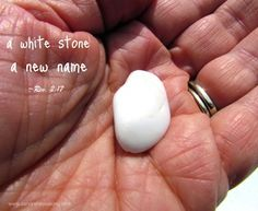 a white stone Hidden Manna, Revelation 3, Jesus Clothes, Lord Is My Shepherd, New Names, No Me Importa, White Stone, Studying, Ministry