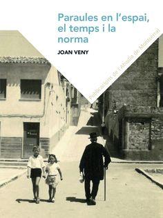 """Paraules en l'espai, el temps i la norma / Joan Veny https://cataleg.ub.edu/record=b2218465~S1*cat Llibre sobre els mètodes de recerca geolingüística, justificació històrica de les àrees dialectals, com és ara el català occidental i el català oriental, el valor interpretatiu del """"Petit Atles Lingüístic del Domini Català"""", la importància de l'adstrat occità i aragonès, ..."""