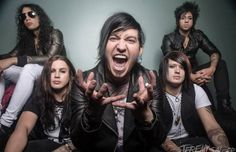 Escape The Fate Escape The Fate Announce Co Headlining Tour With Pop Evil