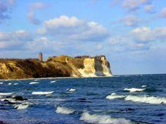 Kap Arkona (English: Cape Arkona) is a 45-metre-high cape on the island of Rügen, Ostsee (Baltic Sea), Mecklenburg-Vorpommern (Mecklenburg-Western Pomerania). Rügen is Germany's largest island.