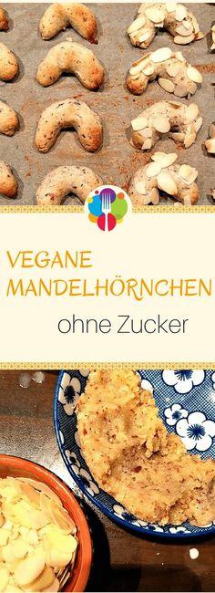 Vegane Mandelhörnchen I Vegane Kekse I Vegan backen I Entdeckt von Vegalife Rocks: www.vegaliferocks.de ✨ I Fleischlos glücklich, fit & Gesund✨ I Follow me for more vegan inspiration @vegaliferocks