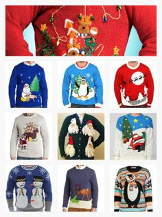 Favorite Ugly Christmas Sweaters-  Ideas for The St. Clair's Ugly Christmas Sweater Party