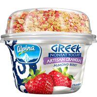 Alpina Greek Yogurt with Artisan Granola