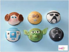 Star Wars Cupcakes by Sweet P Cakes and Cookies