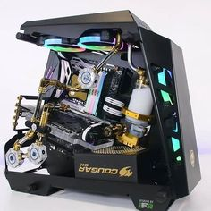 Building A Gaming Pc 687010118142662034 - Source by Best Gaming Setup, Best Gaming Laptop, Gaming Pcs, Computer Setup, Computer Case, Gaming Computer, Computer Workstation, Gaming Rooms, Case Modding