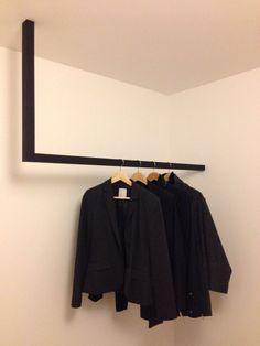 Kleiderstange Garderobe Garderobenstange Modell Fuxi von Stahlking