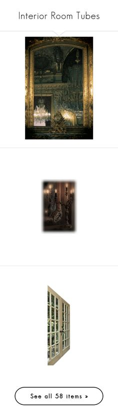 """""""Interior Room Tubes"""" by craftygeminicreation ❤ liked on Polyvore featuring backgrounds, black swan, tubes, fade, room, home, home decor, windows, doors and furniture"""