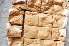 Canadian butterscotch bars   Carre au Sucre a la Creme