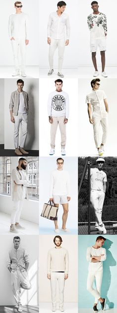 Ways To Wear White-On-White: Casual Sportswear Lookbook Inspiration