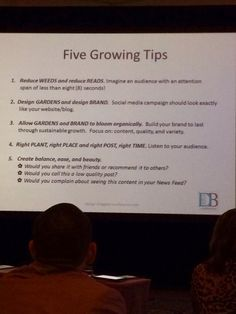 Tips to Grow your Blog  Jan Bills from Design Bloggers Conference shared by The English Room #dbc2014