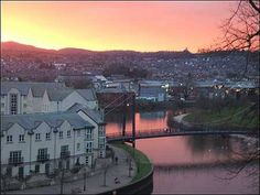 Exeter quay sunset :-)