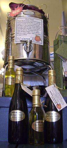 Our classic blood orange extra virgin olive oil. Wine Vine, Blood Orange, Tasty Dishes, Vinegar, Olive Oil, Wines, Barware, Roast, Gluten Free