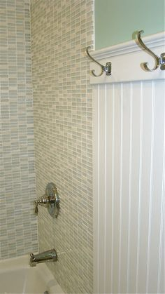The Vintage Glitter House: Girl's Bathroom Remodel on a Budget. Great link to buy nice tile inexpensively.