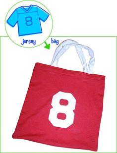 DIY > Sports jersey tote bag