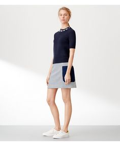 Tory Sport: Performance Activewear for Women by Tory Burch Golf Fashion, Golf Outfit, Ladies Golf, Short Skirts, Sport Outfits, Tory Burch, Active Wear, Dress Up, Houndstooth