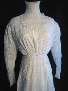 Vintage dress 19001910 Downton Abbey by vintageboxofdelights, $275.00