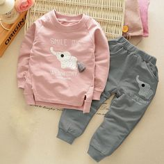 $8.20 (Buy here: https://alitems.com/g/1e8d114494ebda23ff8b16525dc3e8/?i=5&ulp=https%3A%2F%2Fwww.aliexpress.com%2Fitem%2FKids-Clothes-Autumn-Winter-Baby-Boys-Girls-Cartoon-Elephant-Cotton-Set-Children-Clothing-Sets-Child-T%2F32758622103.html ) Kids Clothes Autumn/Winter Baby Boys Girls Cartoon Elephant Cotton Set Children Clothing Sets Child T-Shirt+Pants Suit for just $8.20