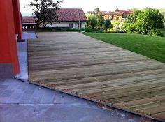 Posa pavimento esterno in legno | eBay