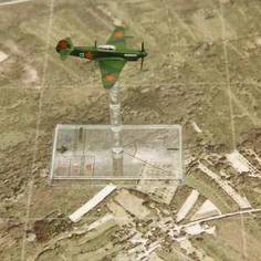 Tapis vue tactique Aérienne B zoom - PlateauxdeJeux.com
