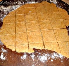 Homemade Crackers for less than $.50 Recipe at www.MelissaKNorris.com