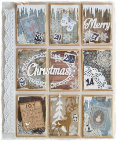 Noor! Design U.K.: Pocket Advent Calendar