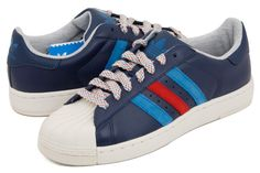 アディダス スーパースター 2  adidas Superstar II Lite DARK INDIGO/RED/ROYAL  G60532