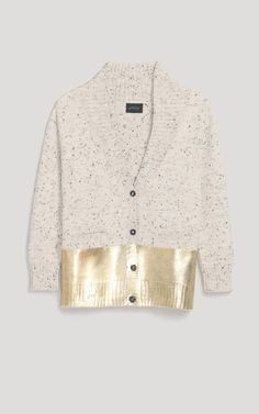 Rachel Comey Gold Dipped Cardigan