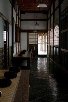 Zen meditation hall