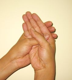 Ancient Hand Gesture (Mudra) for Receiving Answers to Spiritual Questions and Mysteries http://www.thehealersjournal.com/2013/04/04/hand-gesture-mudra-intuitive-guidance/
