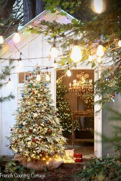 All of the 12 Trees of Christmas 2020 - French Country Cottage