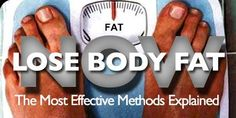 Guide to reducing body fat.
