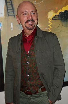 Filippa K jacket, vintage vest, Esprit pants