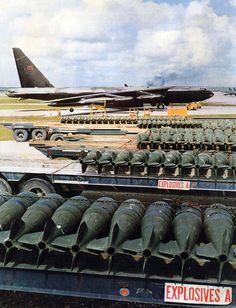 Bombing up B-52's