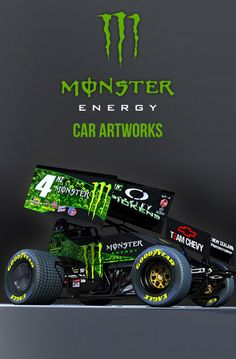 Monster Energy Art - Car Artworks based on Monster Energy Drinks.