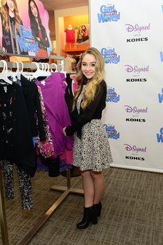 Sabrina Carpenter Debuts 'Girl Meets World' Clothing Line at Kohl's | Twist