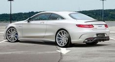 #Mercedes-Benz S63 #AMG Coupe 800PS by #Voltage Design