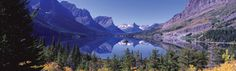 St Mary Lake Rear Window Graphic National Geographic