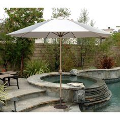 11' Tropishade Patio Market Umbrella
