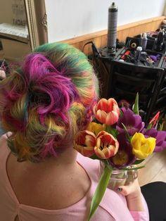 Ojo's World: How, and Why? Rainbow Hair, Nailart, Cabbage, Dreadlocks, Hair Styles, Blog, Beauty, Hair Plait Styles, Hair Makeup