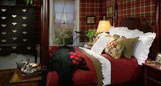 Ralph Lauren bedroom.