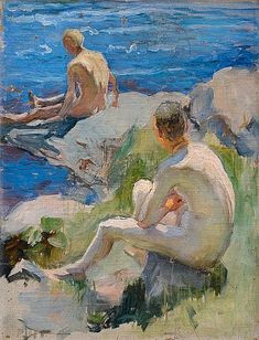 Find artworks by Pekka Halonen (Finnish, 1865 - on MutualArt and find more works from galleries, museums and auction houses worldwide. Art And Illustration, Portrait Art, Portraits, Figurative Kunst, Nordic Art, Queer Art, Russian Painting, Art Of Man, Renaissance Paintings