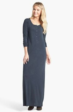 BP. Henley Maxi Dress (Juniors) available at #Nordstrom