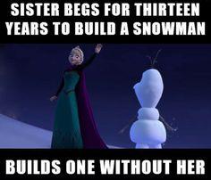 I'm Sure Anna Will Let It Go Eventually