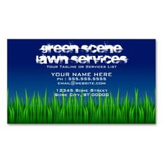 Free landscaping business card template psd free business card green scene lawn services business card reheart Gallery