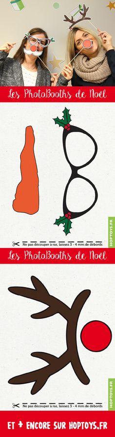Les photoBooths de Noël !Une super activité pour cette fête de fin d'année, quoi de mieux qu'une séance de Photobooth ! Il s'agit de poser ensemble avec plein d'accessoires rigolos ! Parce que forcement, avec toute la famille et les amis que vous allez voir pendant les fêtes, vous aurez droit à la traditionnelle photo de famille.